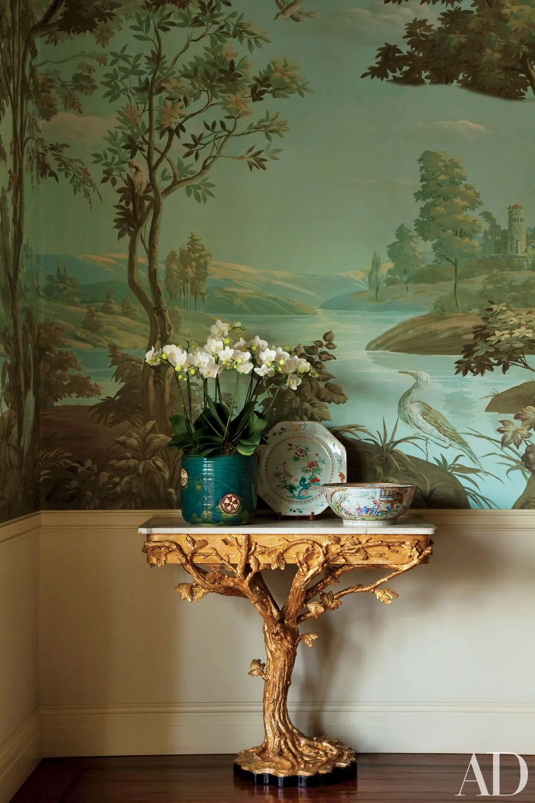 Floral Wallpaper Decorating Inspiration Photos