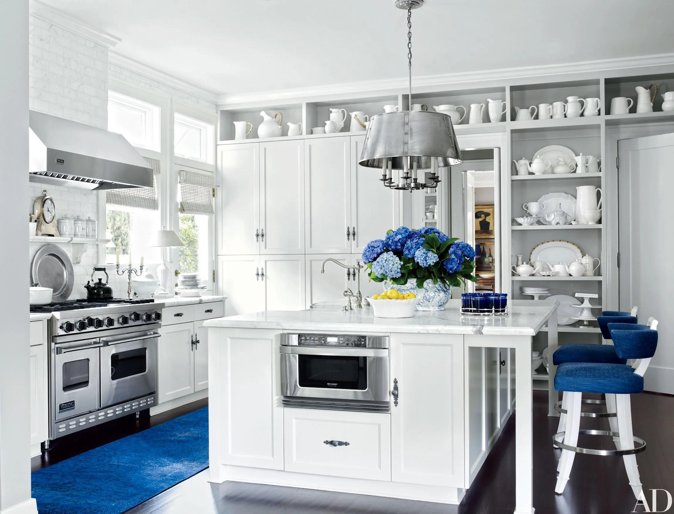 Kitchen Decor Blue And White