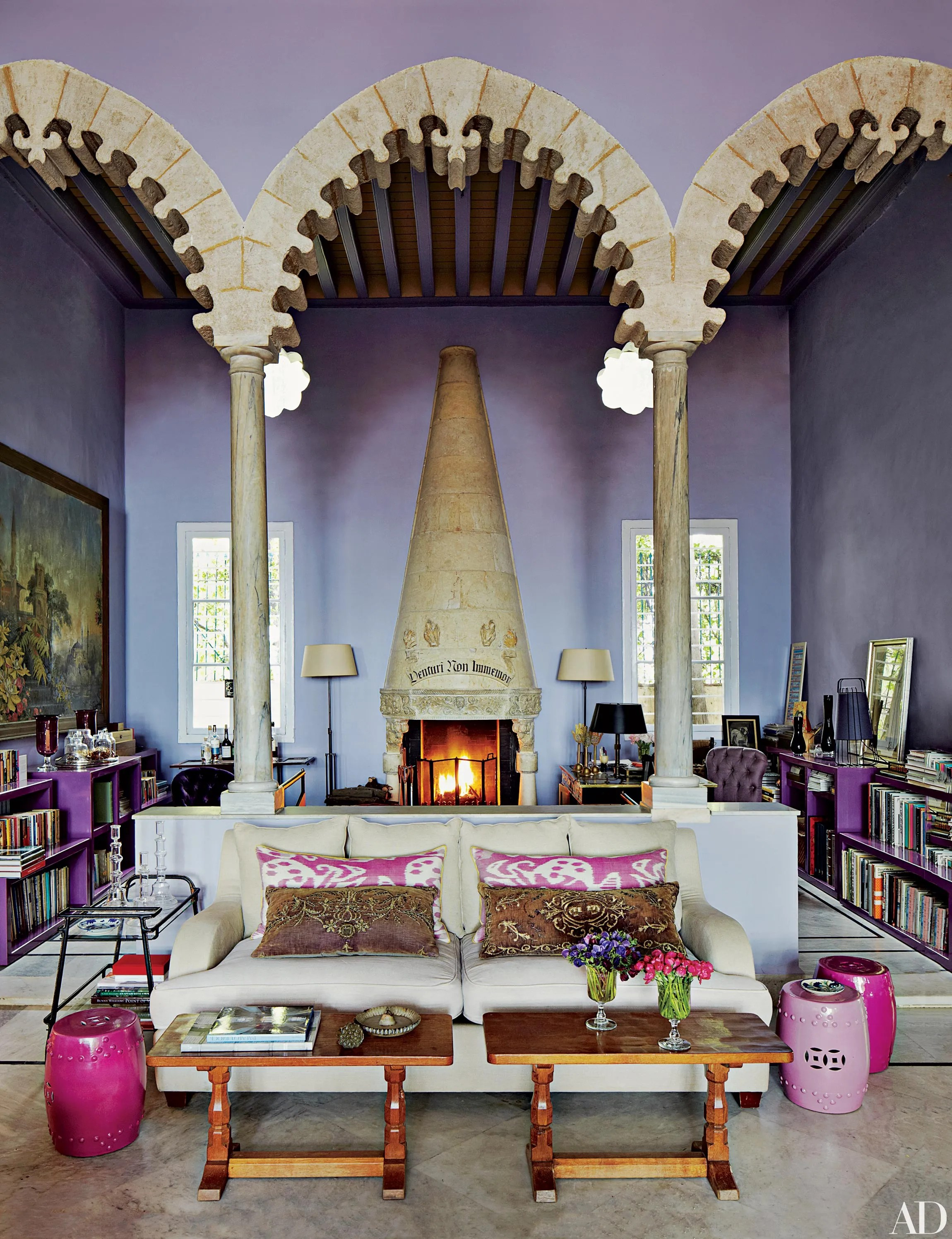 Homes With Eclectic Decor And Worldly Style Architectural