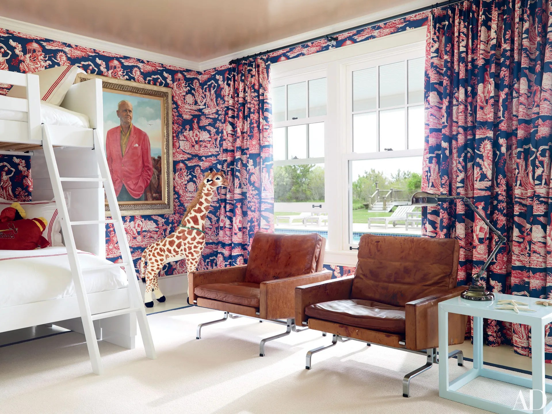 Patriotic Decor: Red, White, And Blue Rooms Photos