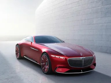 Mercedes Benz Unveils The Vision Maybach 6 In Carmel