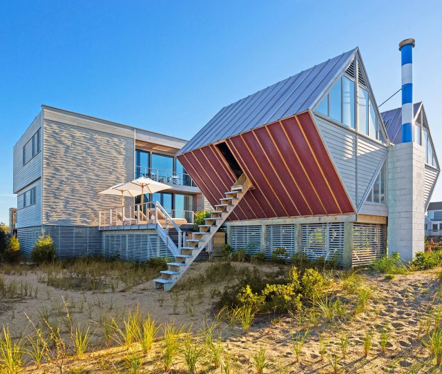 Cookfox Architects Restores The Hamptons Iconic Double Diamond House Architectural Digest