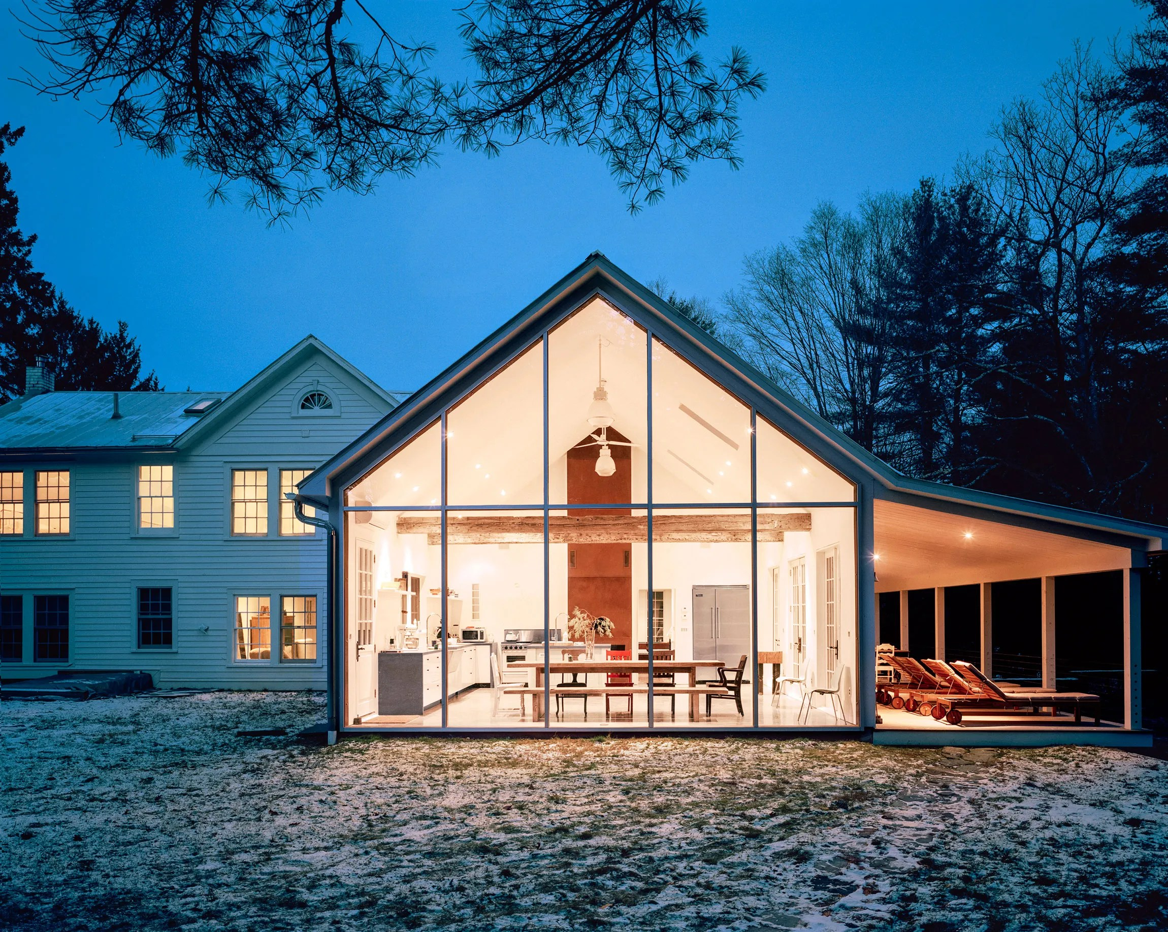 6 Gorgeous Contemporary Farmhouses Architectural Digest