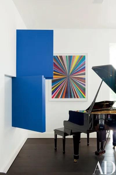 Tv Mogul Darren Star S Art Filled Bel Air Home