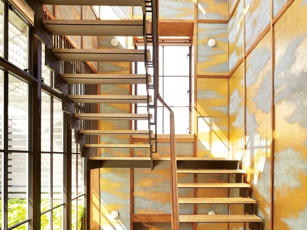 Types Of Stairs Explained Architectural Digest | Types Of Wooden Stairs | Rustic Wooden | Storage | Separated | Staircase | Vertical Wood