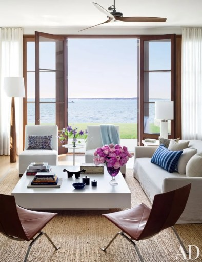8 Living Room Furniture Ideas For Design Inspiration   Architectural     Beach Living Room by Foley   Cox and Frank Greenwald in Sag Harbor  New York