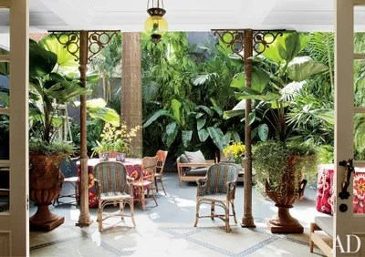 Exotic Outdoor Space by Sig Bergamin in So Paulo Brazil