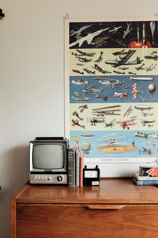 This image may contain Electronics Monitor Display Screen Transportation Vehicle Boat Television TV and Aircraft