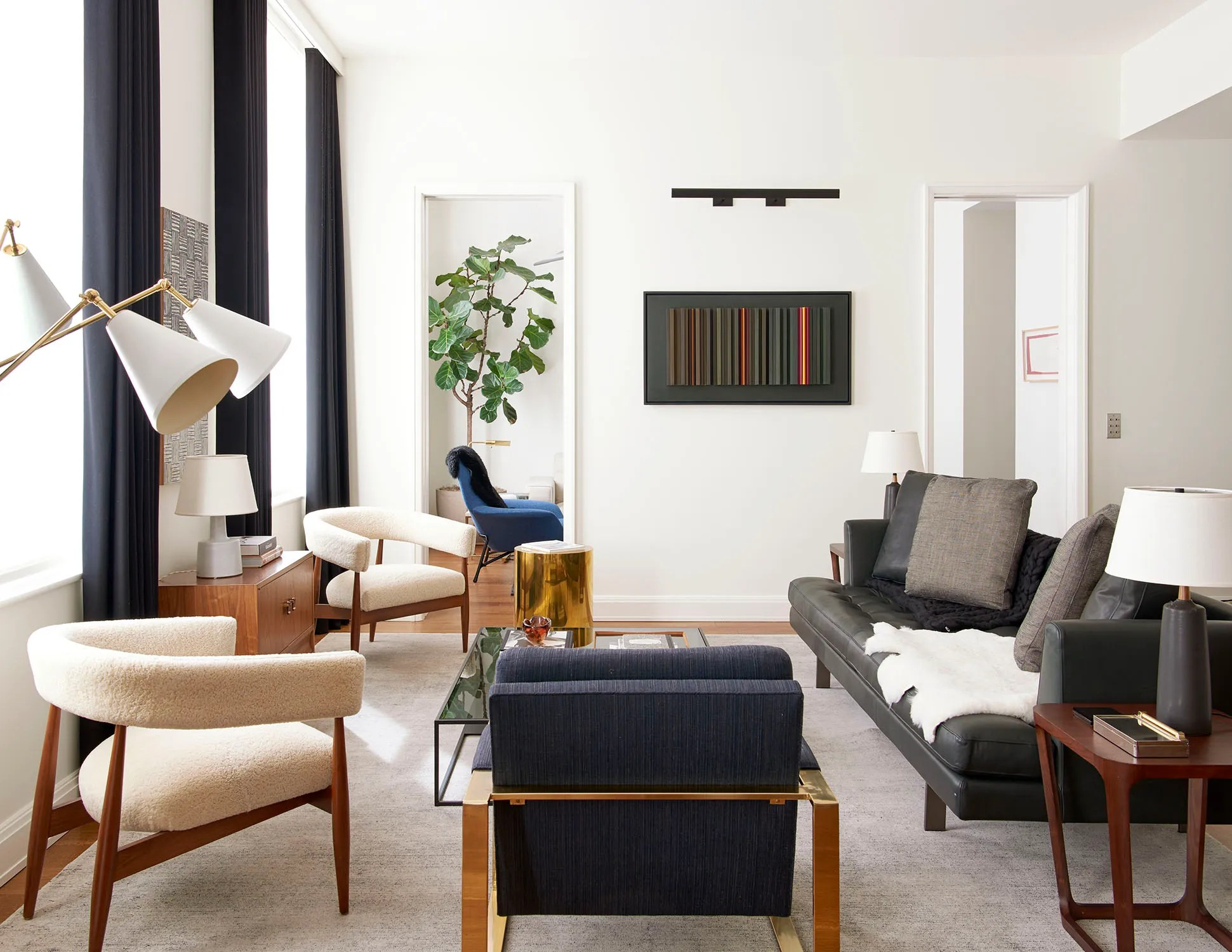 A Clean-Lined New York Apartment By Gachot Studios Dressed