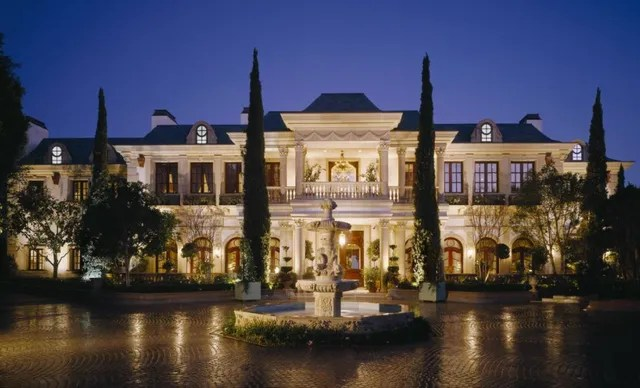 Location: Los Angeles, CaliforniaBuilt: 2007Price: $85,000,000 Bed/Baths: 10 bedrooms, 14 full bathroomsSq. Footage: 35,378Lot Size: 2.2 acres
