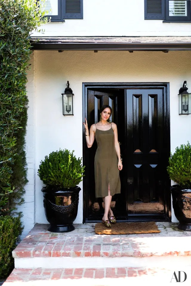 Step Inside Louise Roes House In Los Angeles Photos Architectural Digest