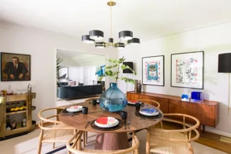 8 Midcentury Modern Decor   Style Ideas  Tips for Interior Design     The dining room