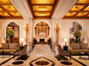 Most Beautiful Hotel Lobbies In The World Architectural Digest