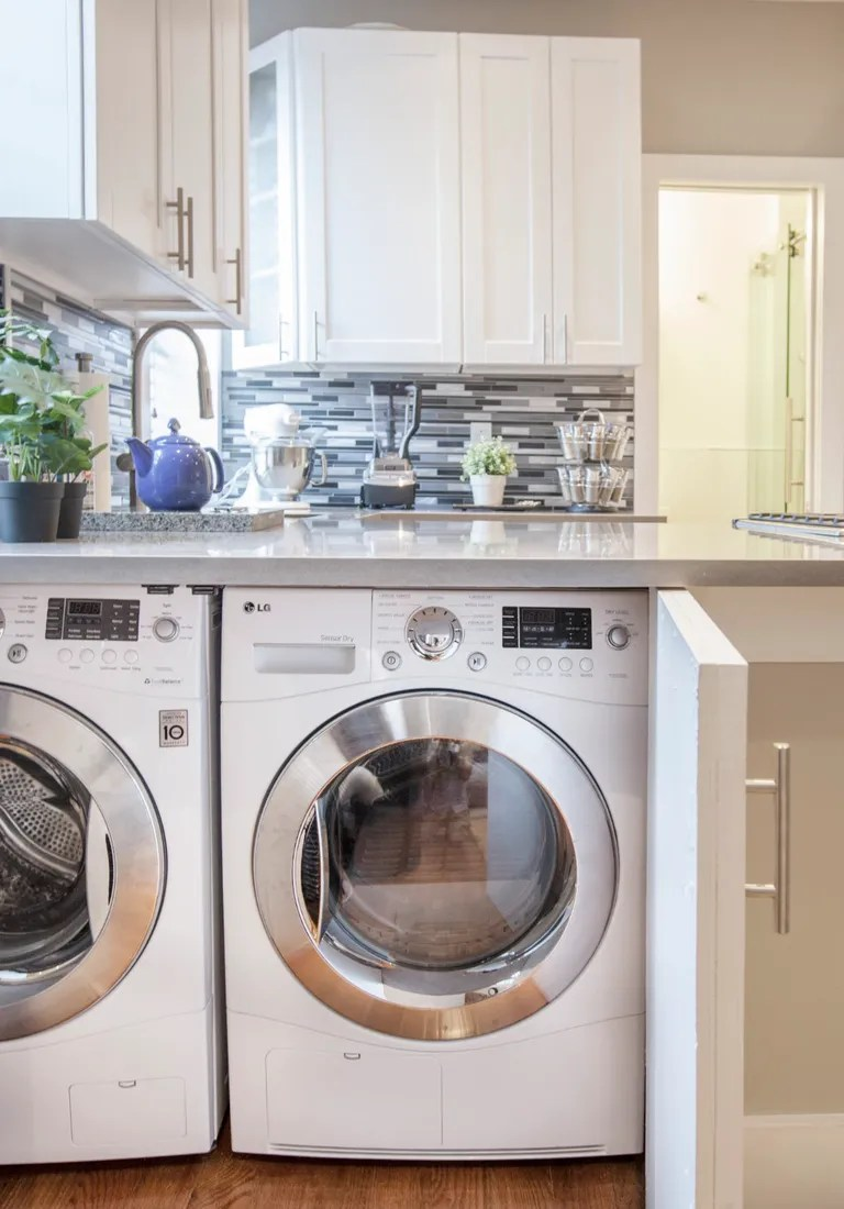 Laundry Room Space Saving Solutions