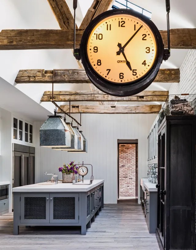 Kitchen in Home of Diane Keaton for the book The House That Pinterest Built.