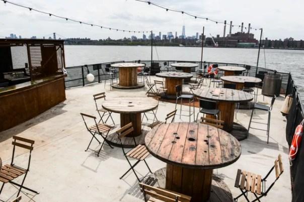 Brooklyn Barge Bar—New York City