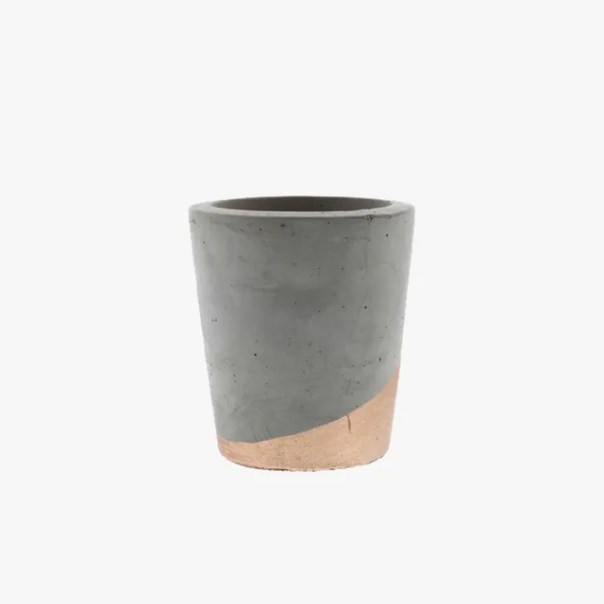 cement tealight holder
