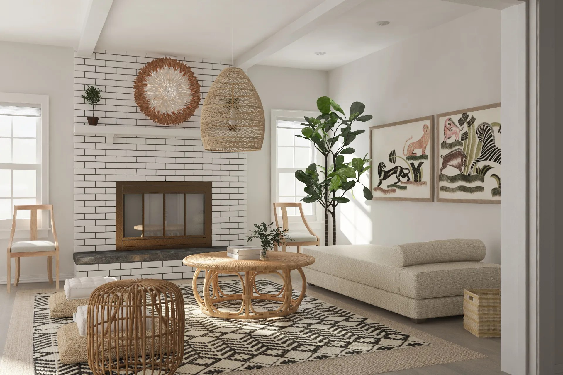 Studio Apartment Living Room Designs