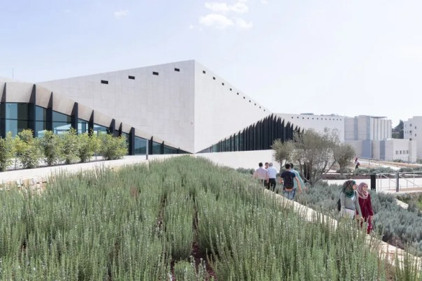 Heneghan Peng Architects' Palestinian Museum on the West Bank.