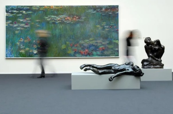 Kunsthaus Zürich's Impressionist collection includes works by Monet and Rodin.