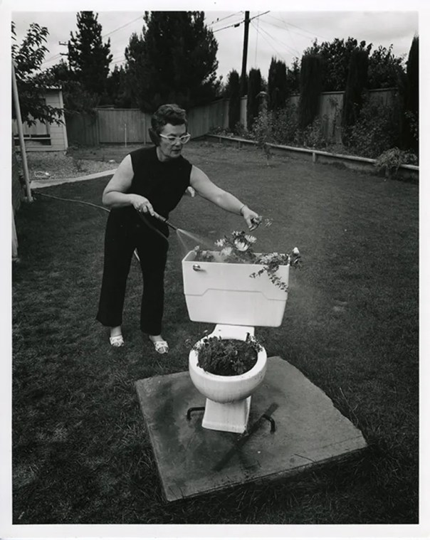 In documenting suburban life Bill Owens captured this image: