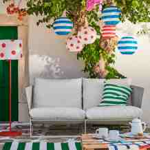 The Best Thing In Ikea S New Summer Collection Is A Solar Floor Lamp And Its Table Lamp Sister Architectural Digest