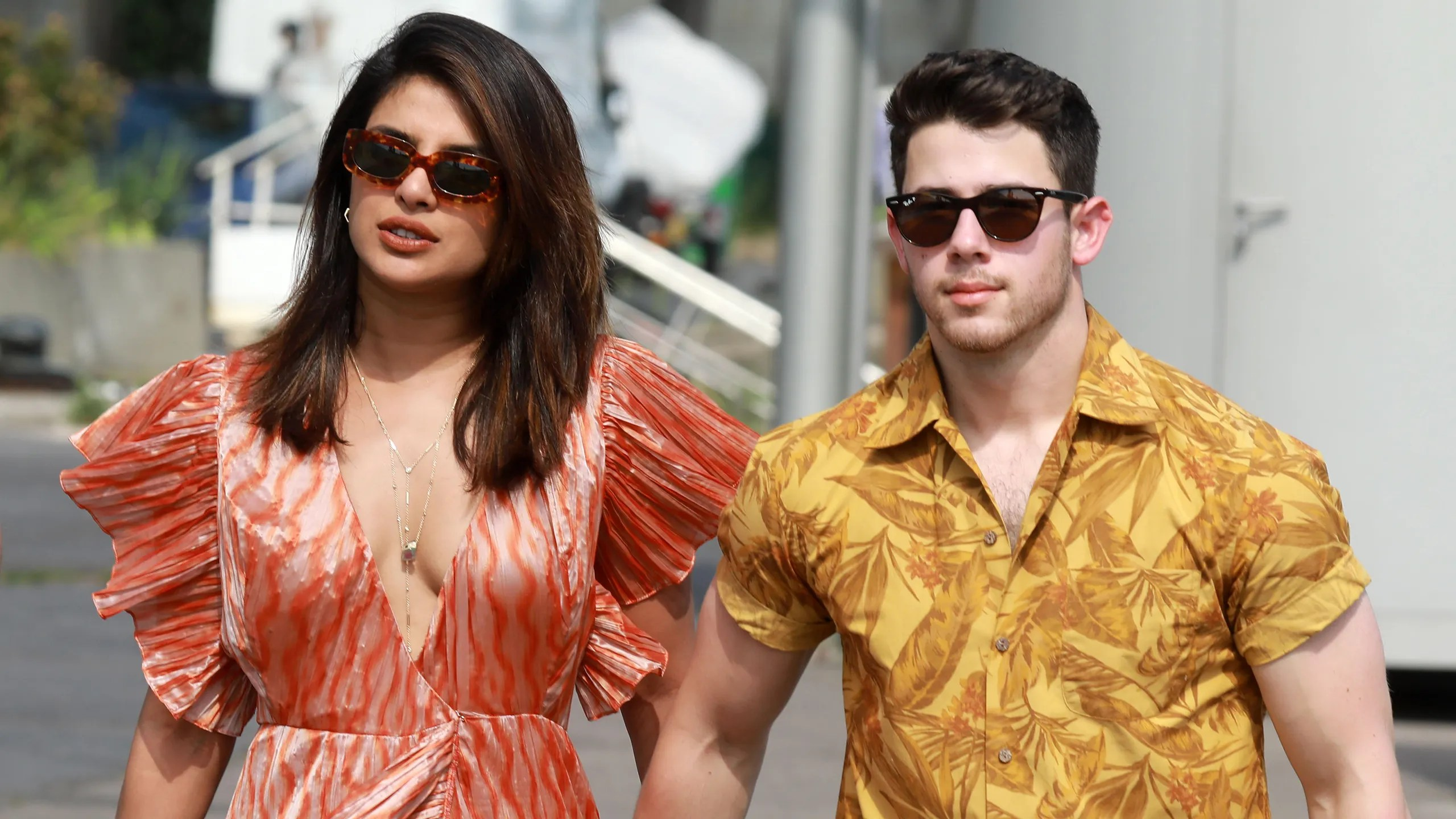 Nick Jonas And Priyanka Chopra Give A Peek Of Their Tuscan