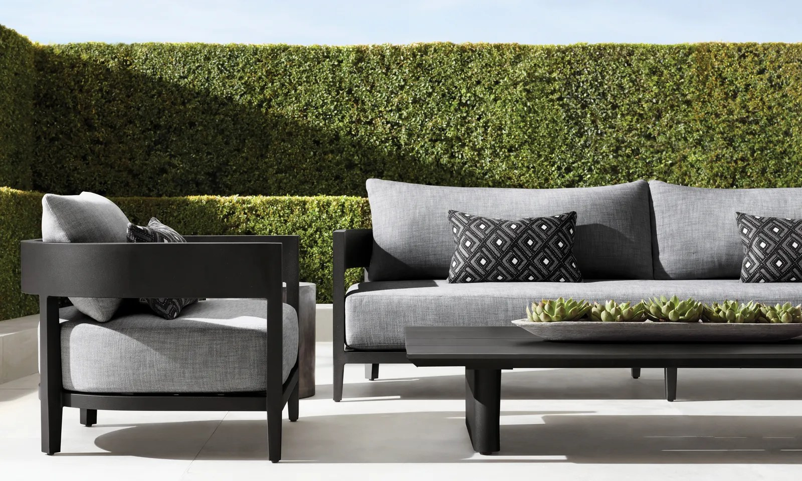 outdoor product collections from rh