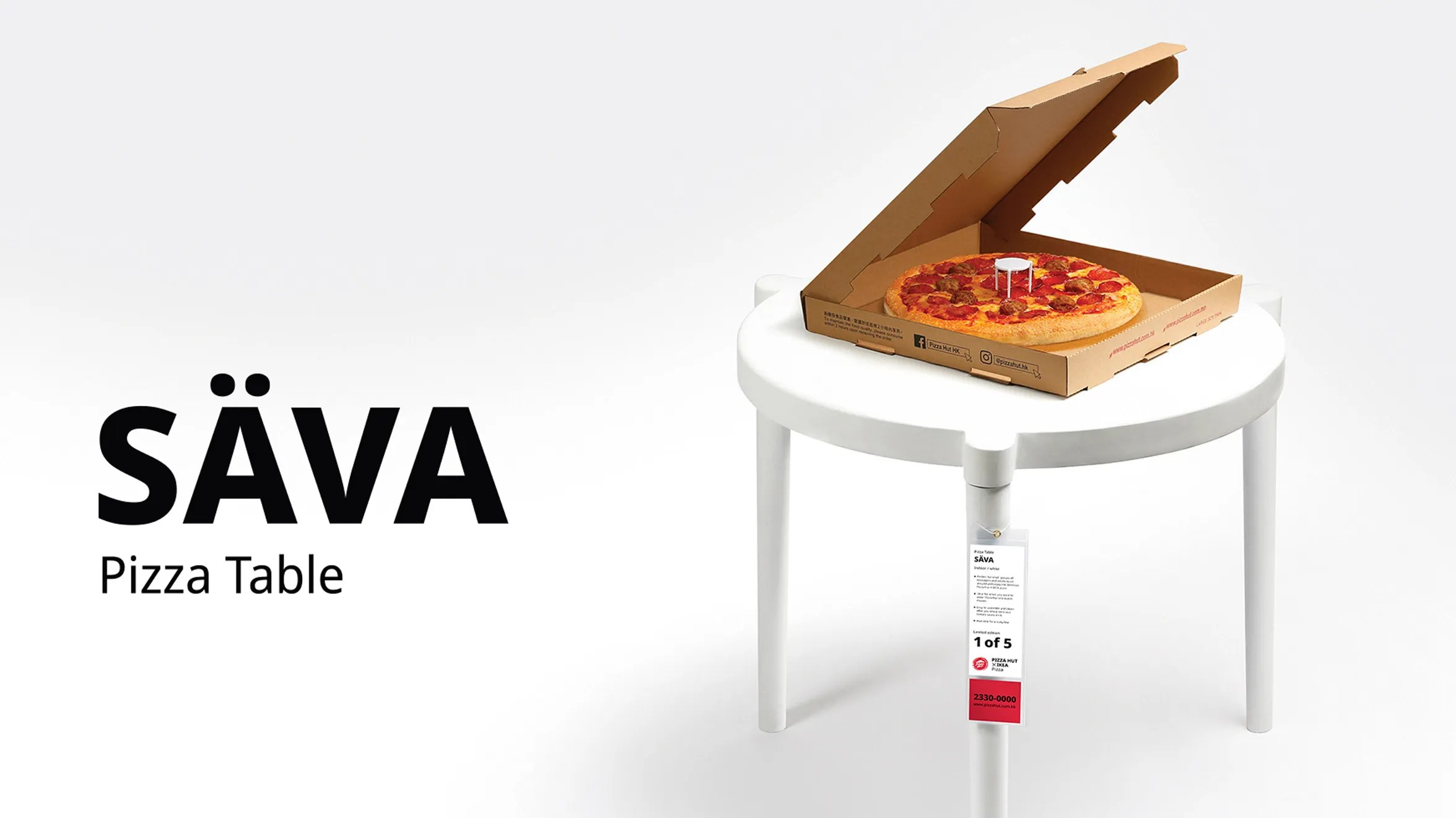 ikea takes inspiration from pizza hut