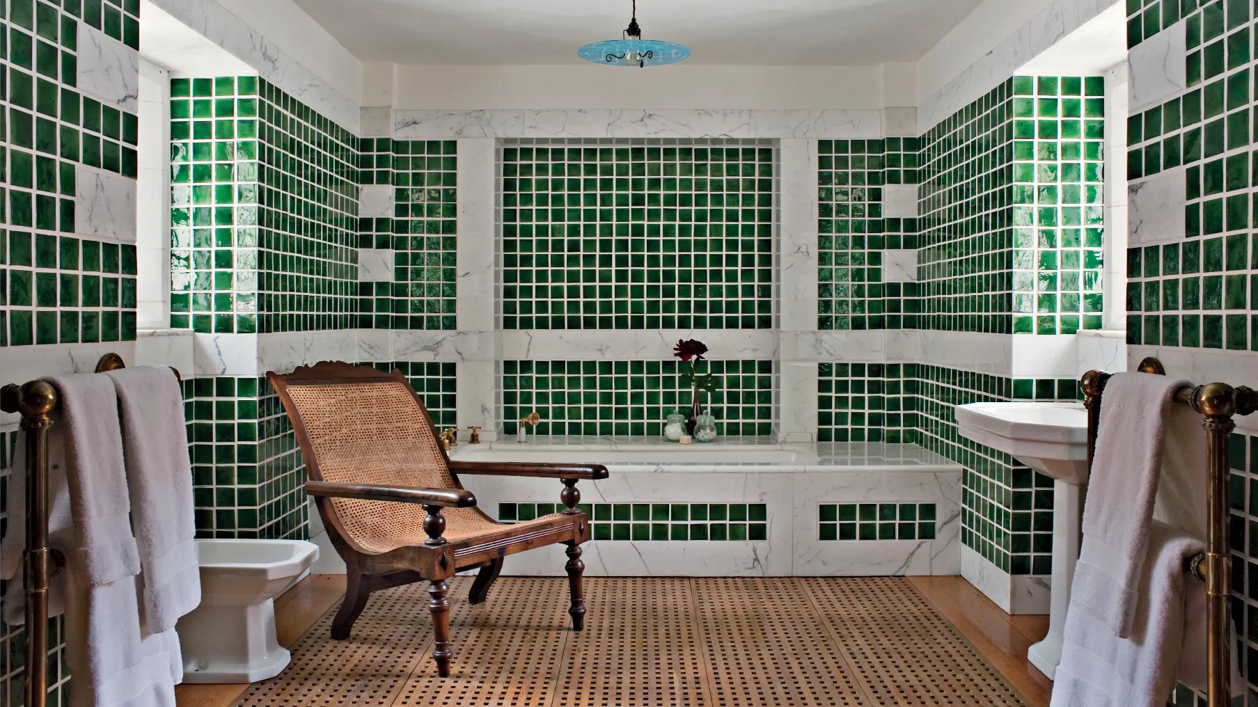 14 times beautiful tiles appear in the