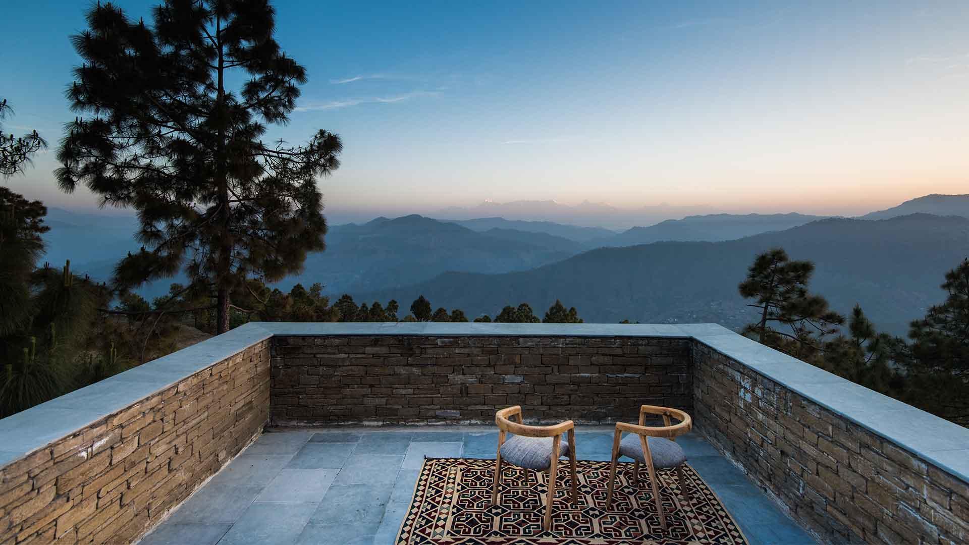Kumaon Resort In Uttarakhand Has Unparalleled Views Of The