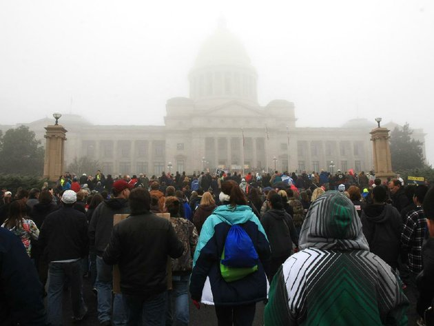marchers-arrive-at-the-state-capitol-on-sunday-after-beginning-the-arkansas-march-for-life-in-downtown-little-rock