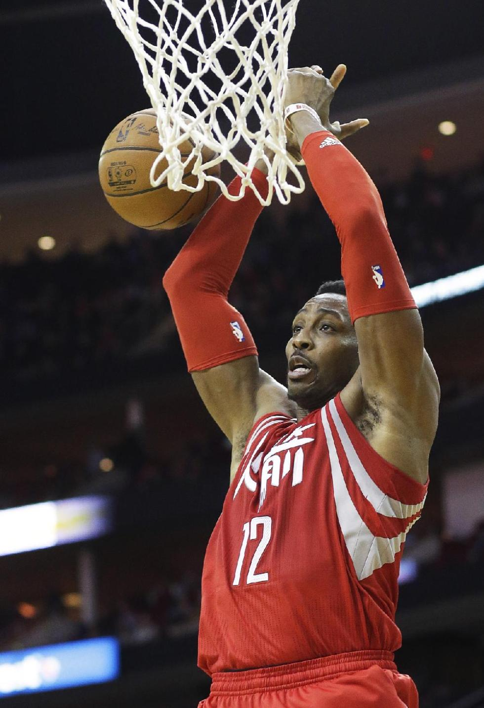 Houston center Dwight Howard's name continues to surface ...