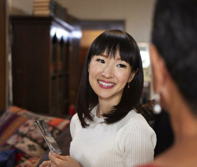 Marie Kondo Is A Japanese Home Organizer Who Is At The Helm Of The Series Tidying Up The Series Is Now Streaming On Netflix