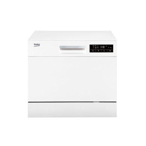 beko lave vaisselle compact dtc36610w 6 couverts 55 cm 49 db 6 programmes