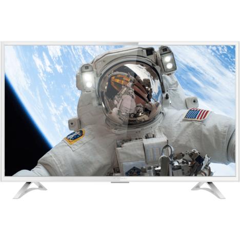 thomson 43ud6206w tv led 4k uhd 109 cm hdr smart tv blanc
