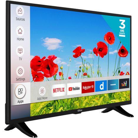 tv led hd 80 cm smart tv qilive