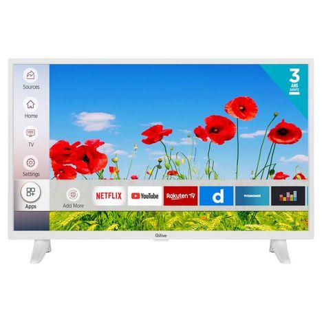 qilive q32hs201w tv led hd 80 cm smart tv