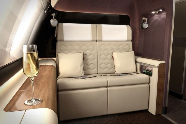 Singapore Airlines first class concept
