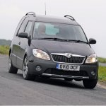 Skoda Roomster Road Test Car Group Tests Review Auto Express
