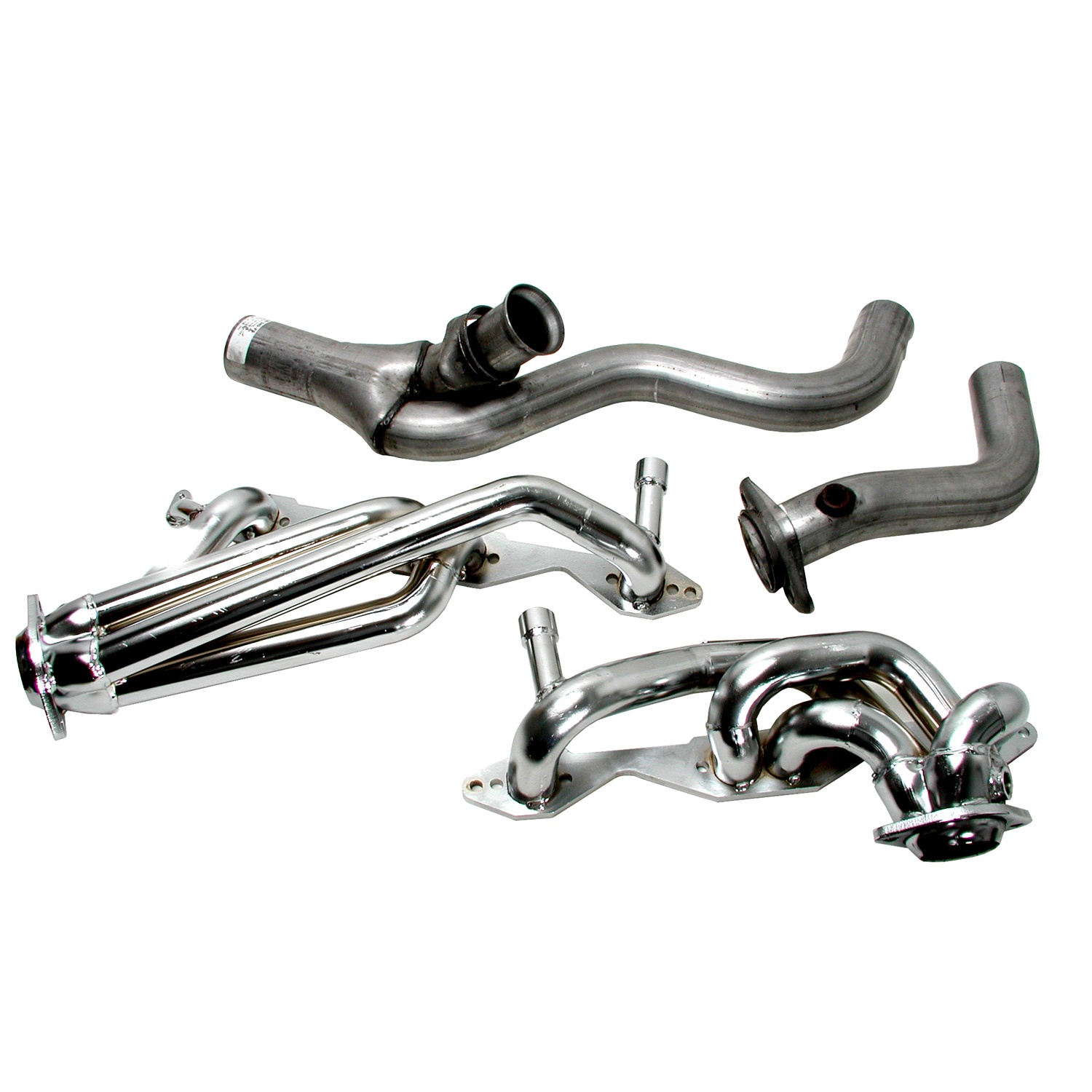 Bbk Cnc Series Performance Header Chrome