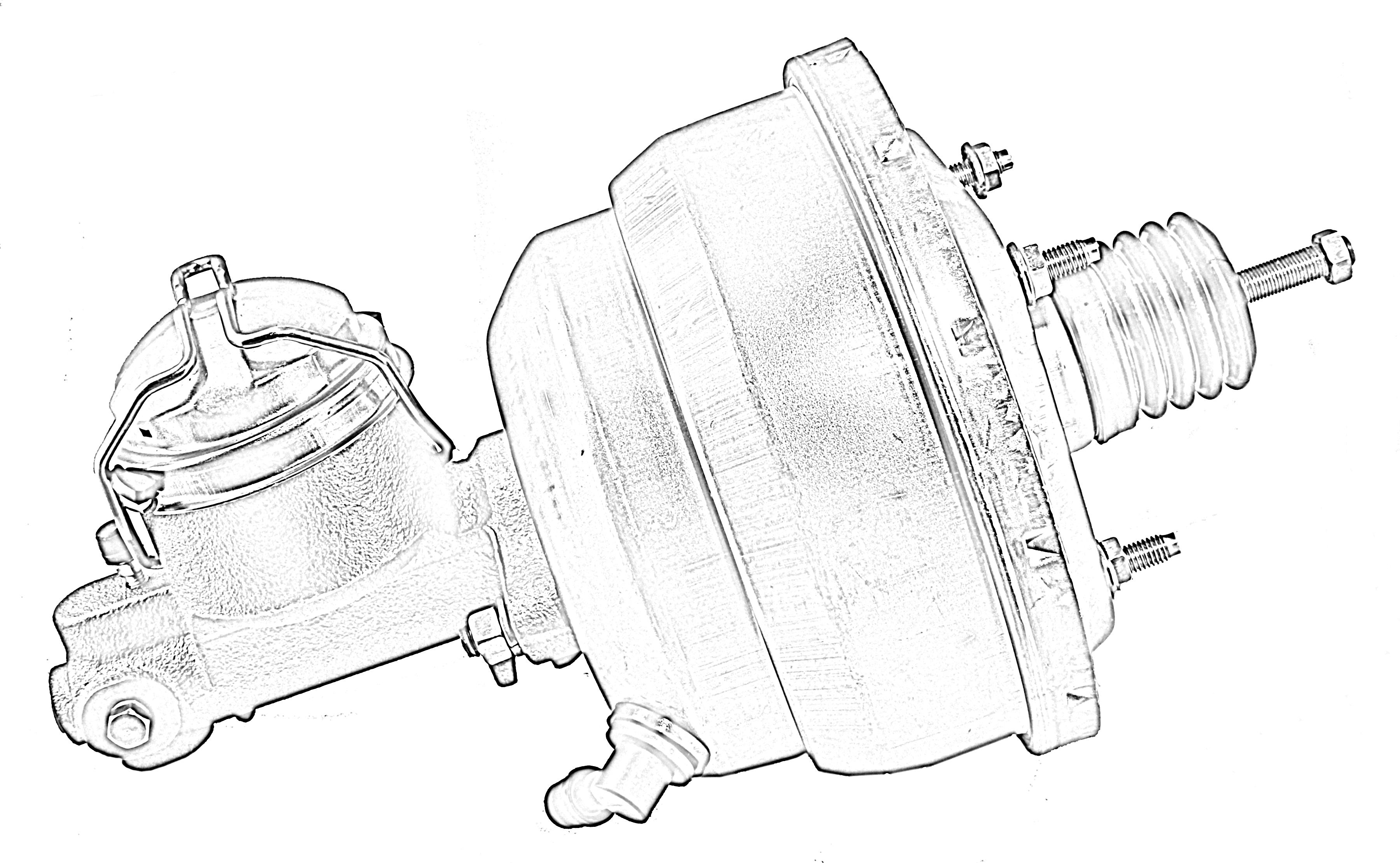 tuff stuff performance na 4 power brake booster