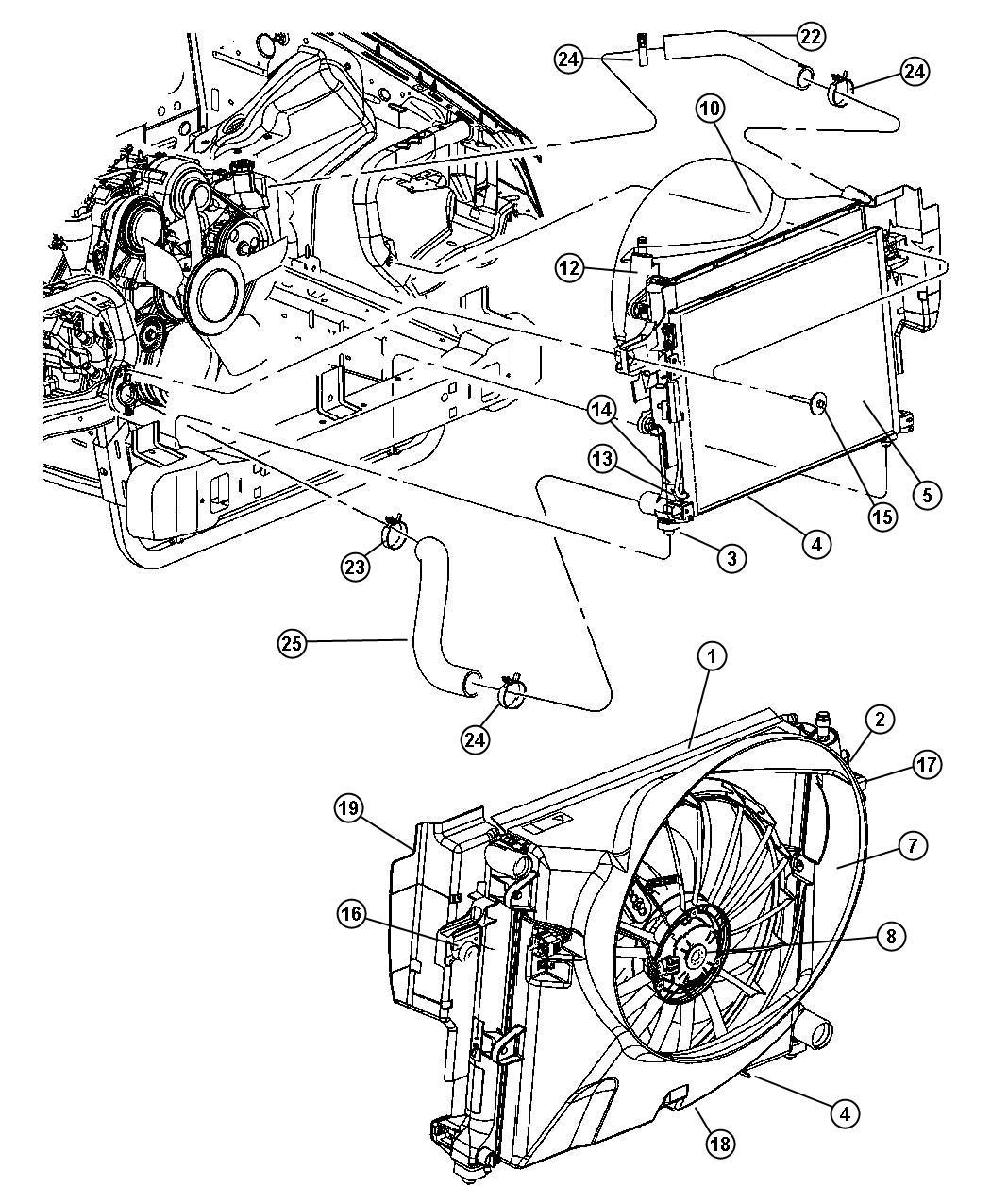 Mopar Performance Ac Mopar Radiator