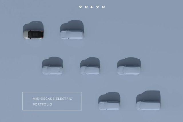 Volvo blikt vooruit op meer elektrische auto's