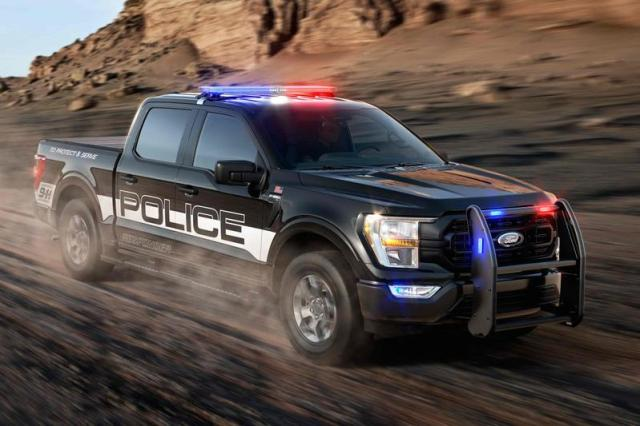 Ford F-150 in als Police Responder