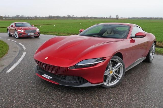 Test: Ferrari Roma vs. Bentley Continental GT V8