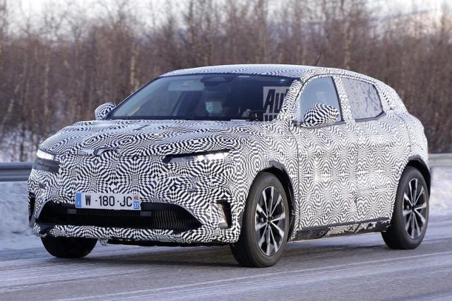 Productieversie elektrische Renault Mégane eVision gesnapt