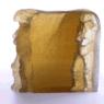 Ann Wolff ANDANTE 2005 h 50 x 45 x 18 cm, kiln casted glass