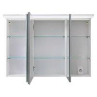 Riva LED Spiegelschrank Matrix Breite 100 cm, Mit ...