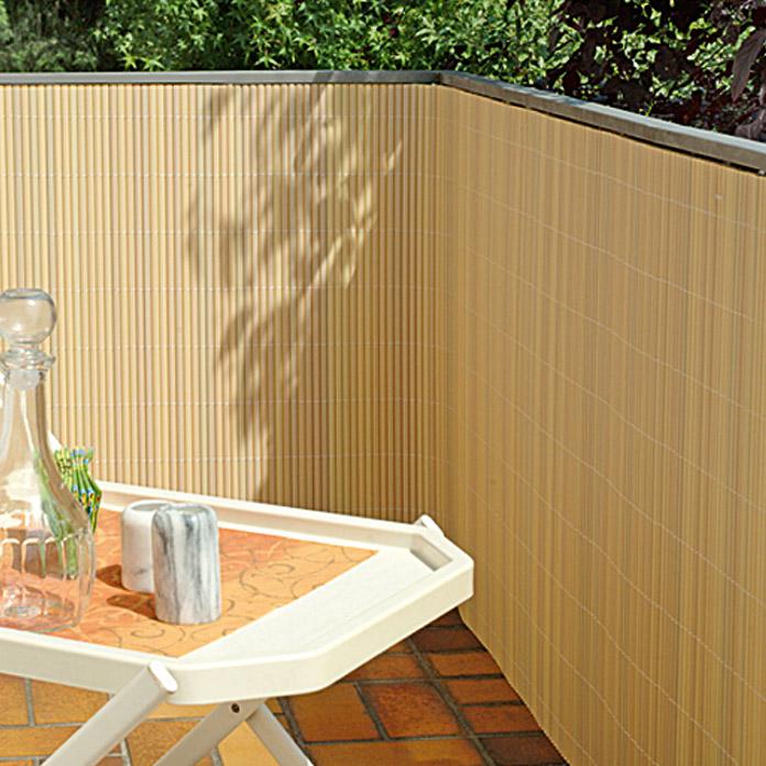 Gardol Comfort Sichtschutz Bambus Optik 300 X 90 Cm